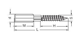 KOMBI šroub-vrut 8x80 Pz