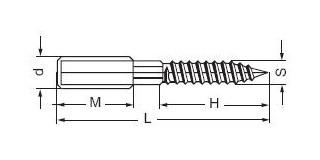 KOMBI šroub-vrut 10x120 Pz