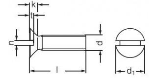 ŠR.záp.hl. DR- M4x20 Pz